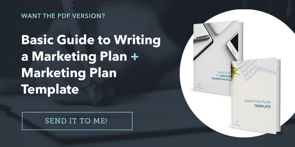 how to write a marketing plan template included