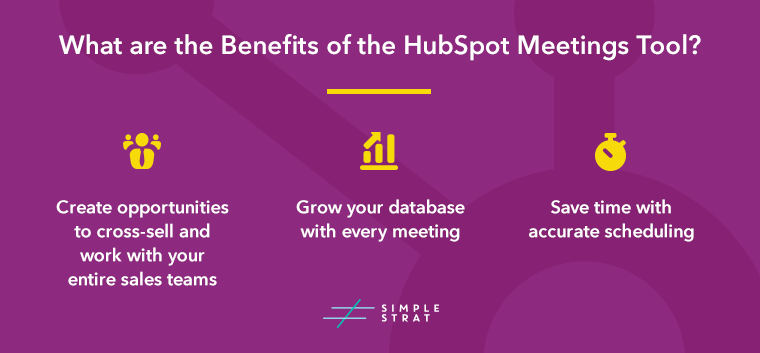 HubSpot Meetings Tool Benefits