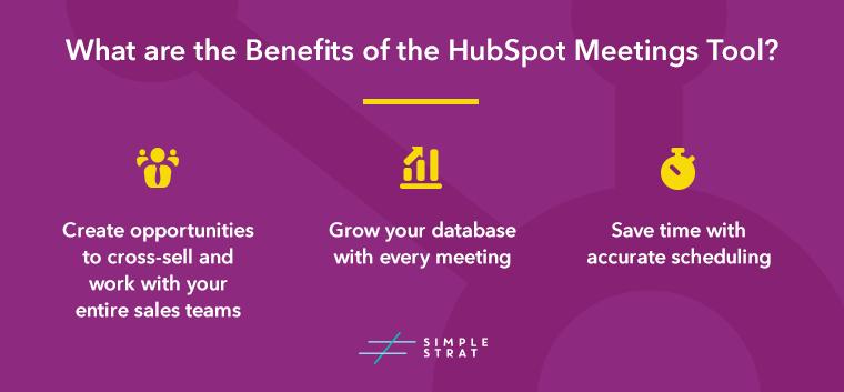 HubSpot Meetings Tool Benefits