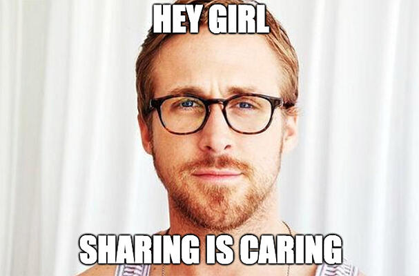 How-to-be-Podcast-Guest_Sharing-is-Caring-Meme
