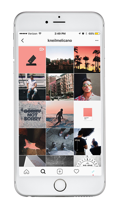Instagram Themes: Color Pop