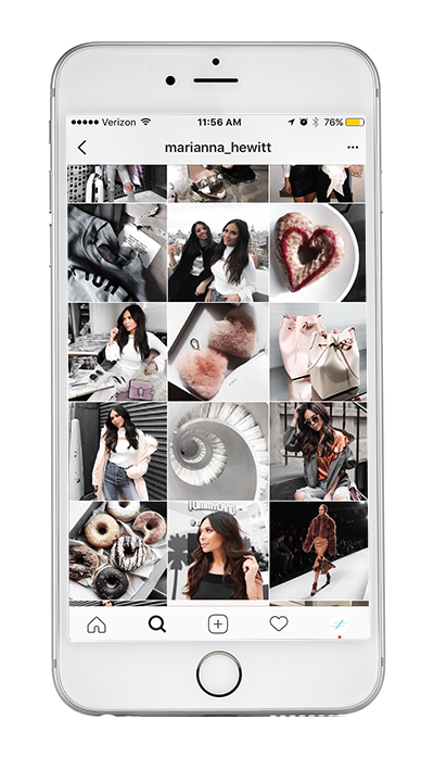 Marianna_hewitt Instagram filter theme example