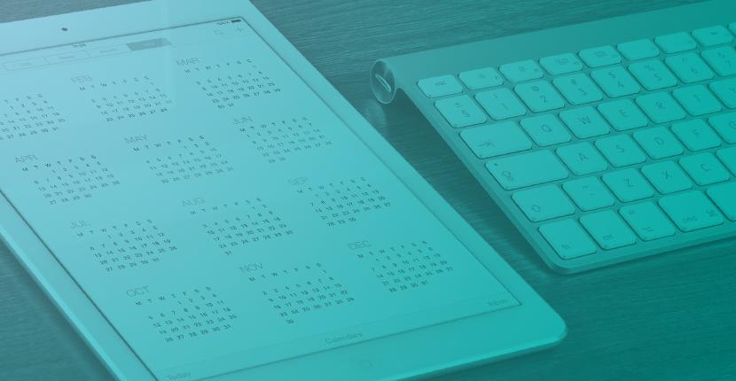 Marketing Plan Outline Part 7 - Calendar
