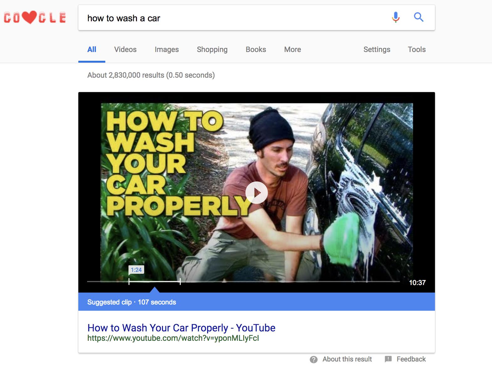 Google-YouTube-Example
