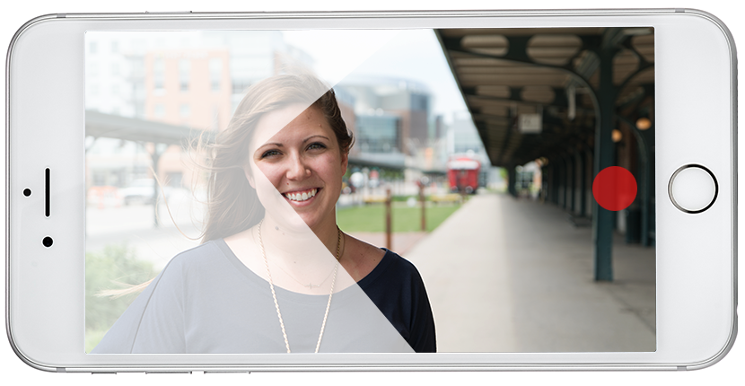 iPhone video tips lead space on image