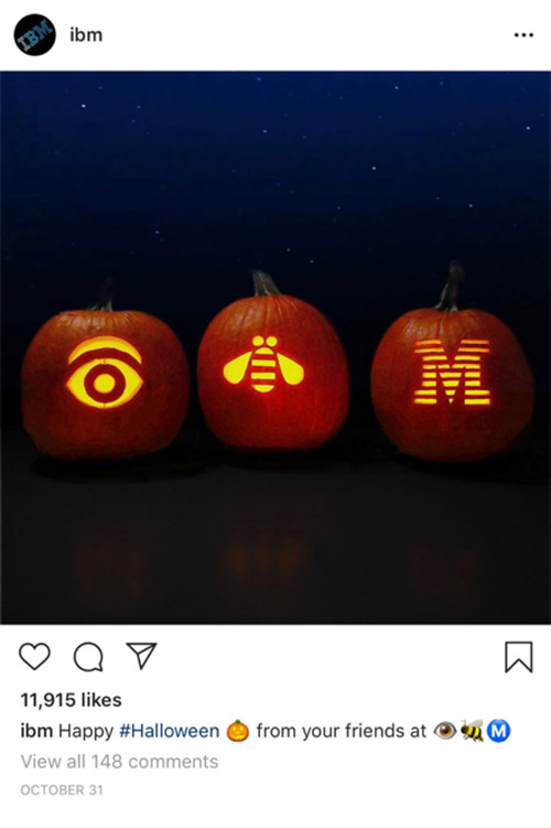Example of simple, human social media marketing