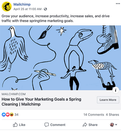A good example of consistent brand messaging in fb ads.