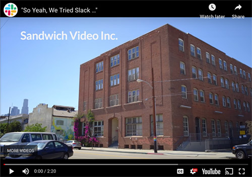 Great example of relevant video marketing content