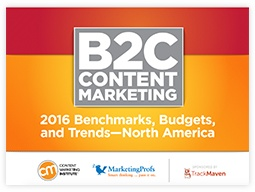 Marketing collateral: case study. B2C Content Marketing Case Study by MarketingProfs.