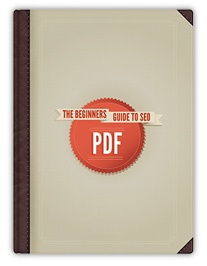 Marketing collateral: ebook. Ebook cover: The Beginners guide to SEO by MOZ