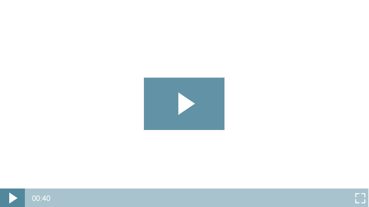 Thumbnail play button icon example