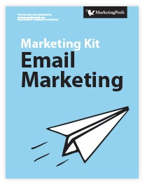 Marketing collateral: whitepaper. Marketing Profs whitepaper: Marketing Kit for Email Marketing.