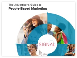 Marketing collateral: whitepaper. The Advertiser's Guide to People-Based Marketing whitepaper.