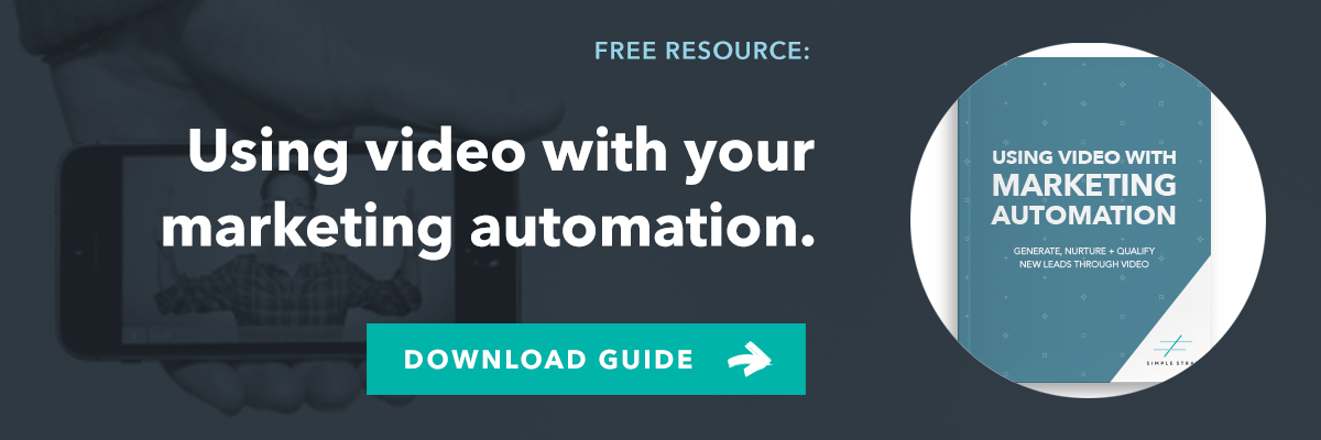 Using Video with Marketing Automation eBook