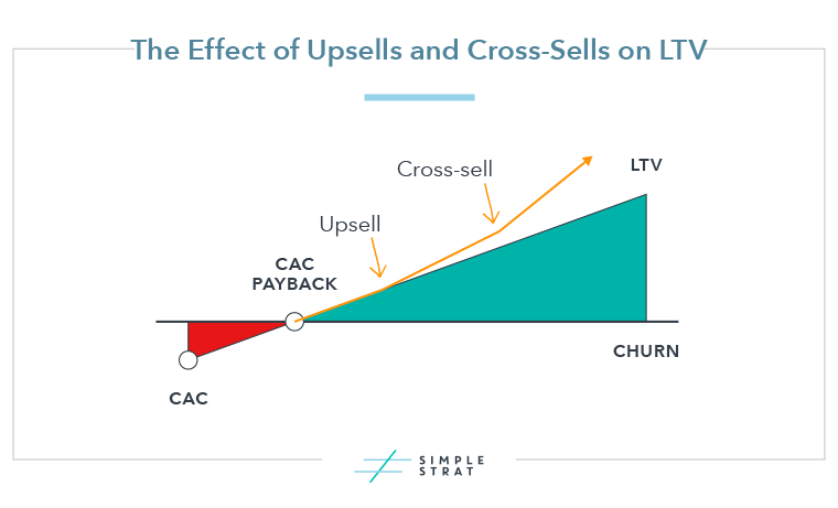 The Effect of Upsells and Cross-Sells on LTV
